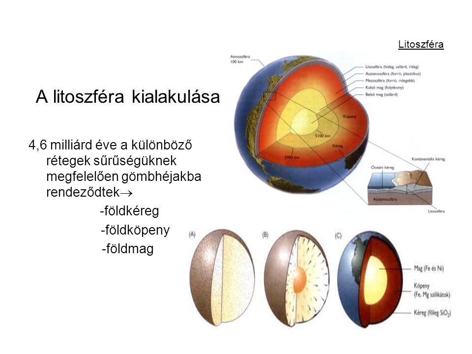 A litoszféra kialakulása