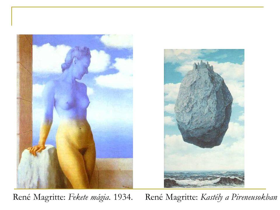 René Magritte: Fekete mágia. 1934.