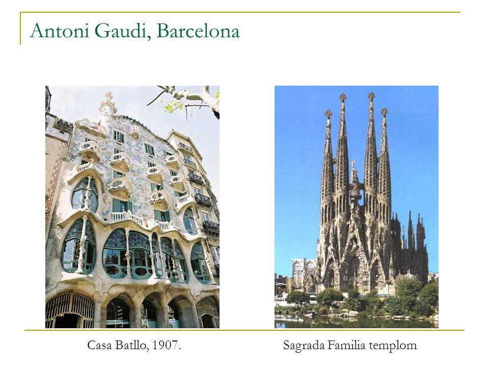 Antoni Gaudi, Barcelona