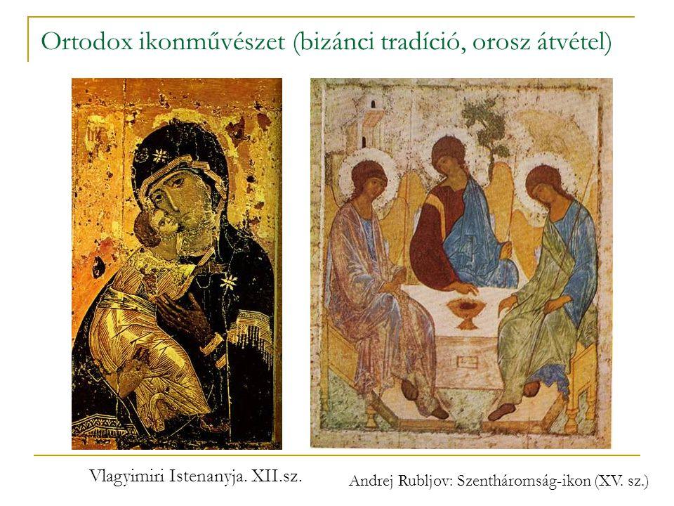 Ortodox ikonművészet (bizánci tradíció, orosz átvétel)