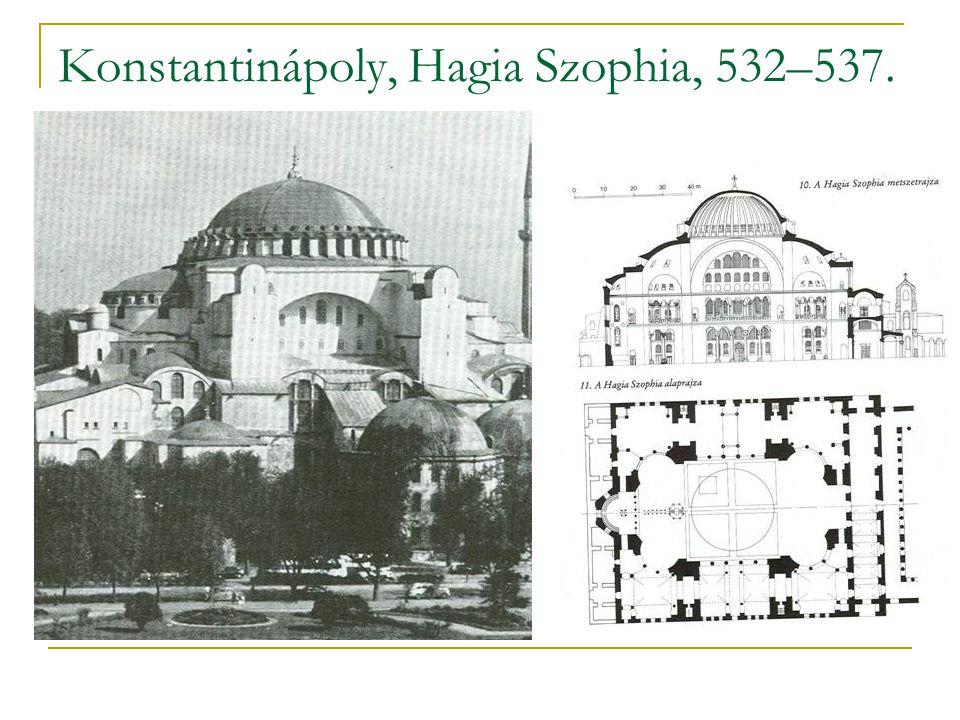 Konstantinápoly, Hagia Szophia, 532–537.