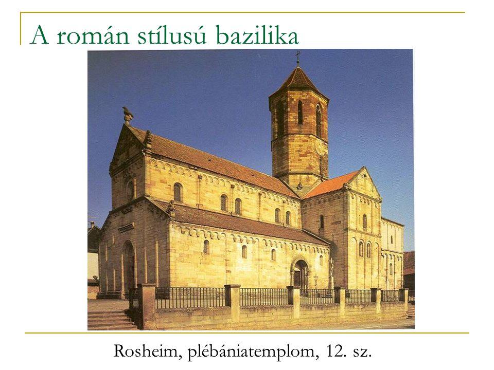 A román stílusú bazilika