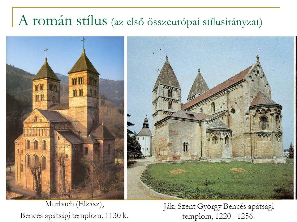 A román stílus (az első összeurópai stílusirányzat)