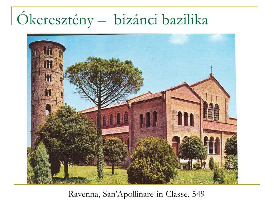 Ókeresztény – bizánci bazilika