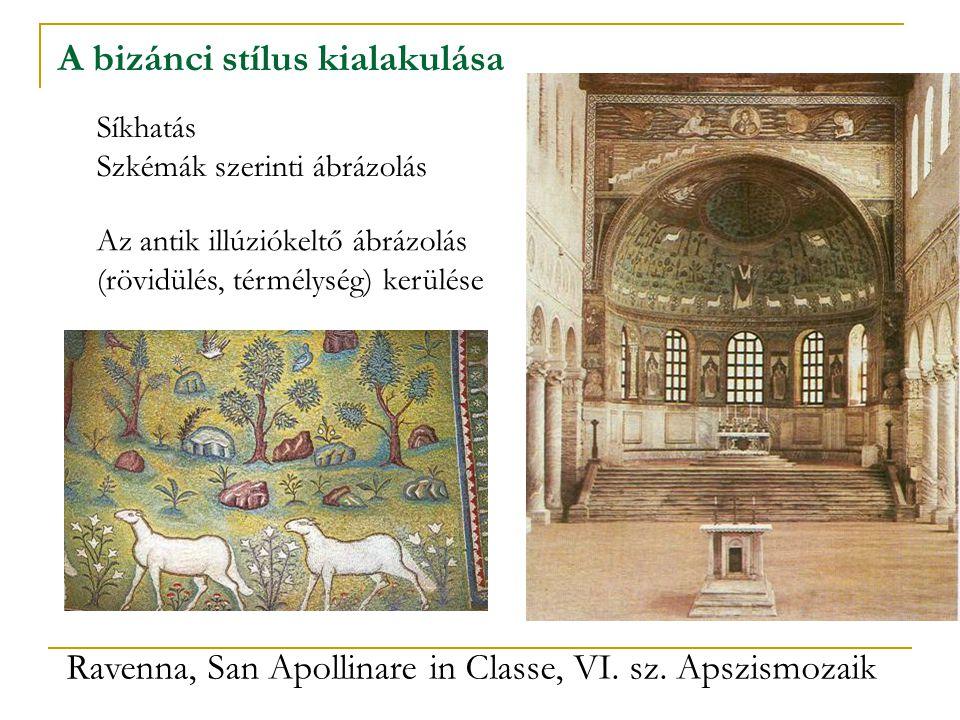 A bizánci stílus kialakulása