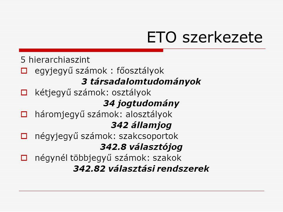 342.82 választási rendszerek