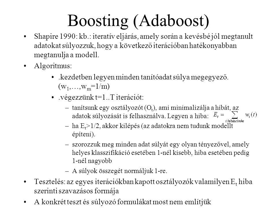 Boosting (Adaboost)