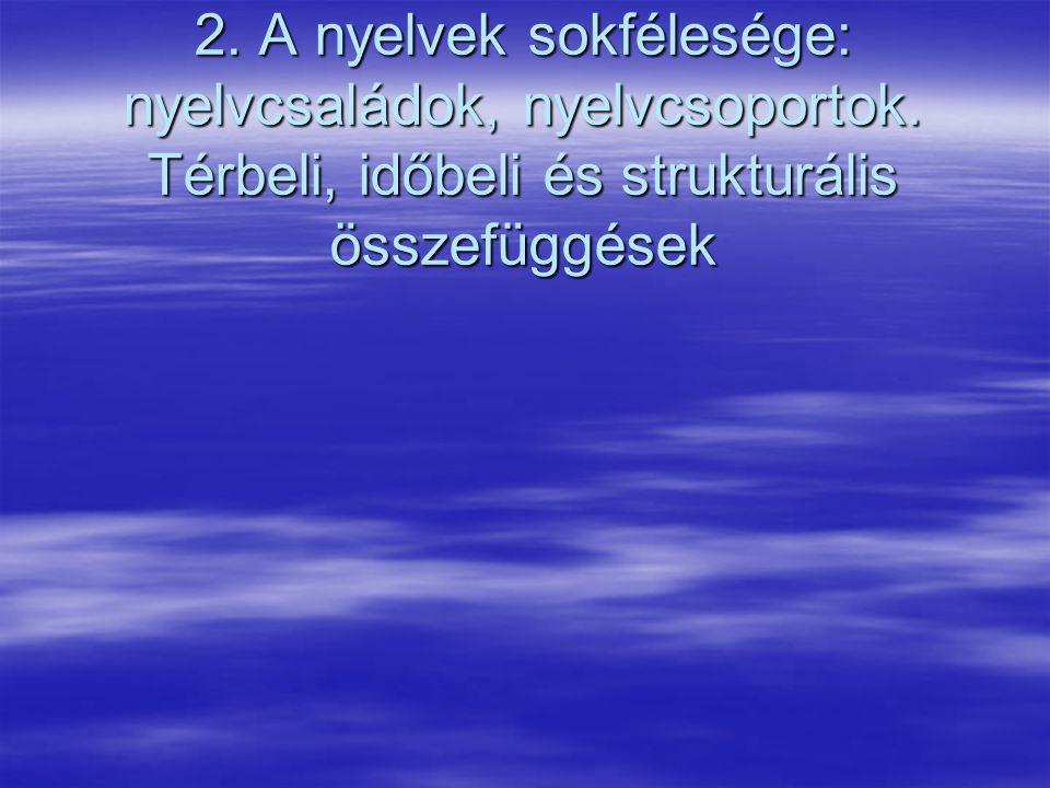 A magyar nyelv finnugor rokonsága 02-15-07 2