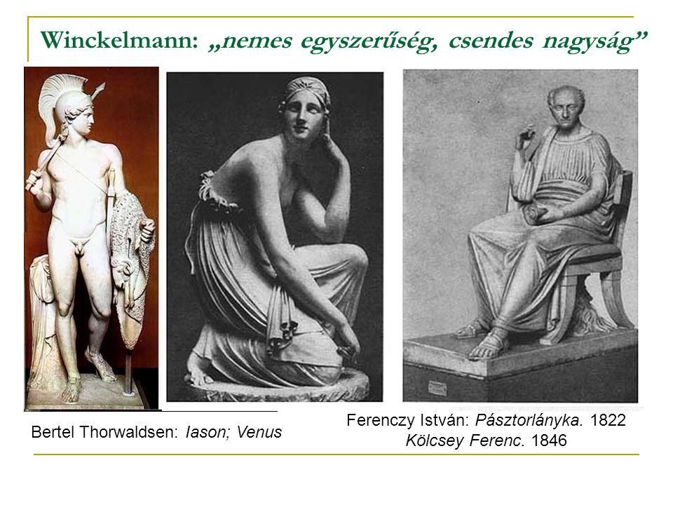 """Winckelmann: """"nemes egyszerűség, csendes nagyság"""