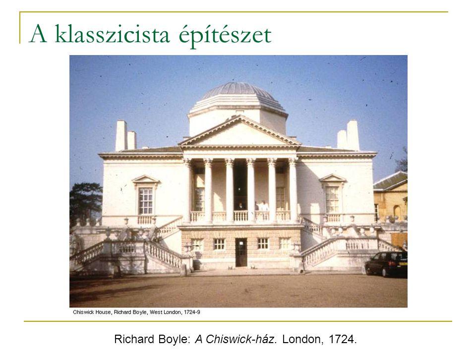 A klasszicista építészet