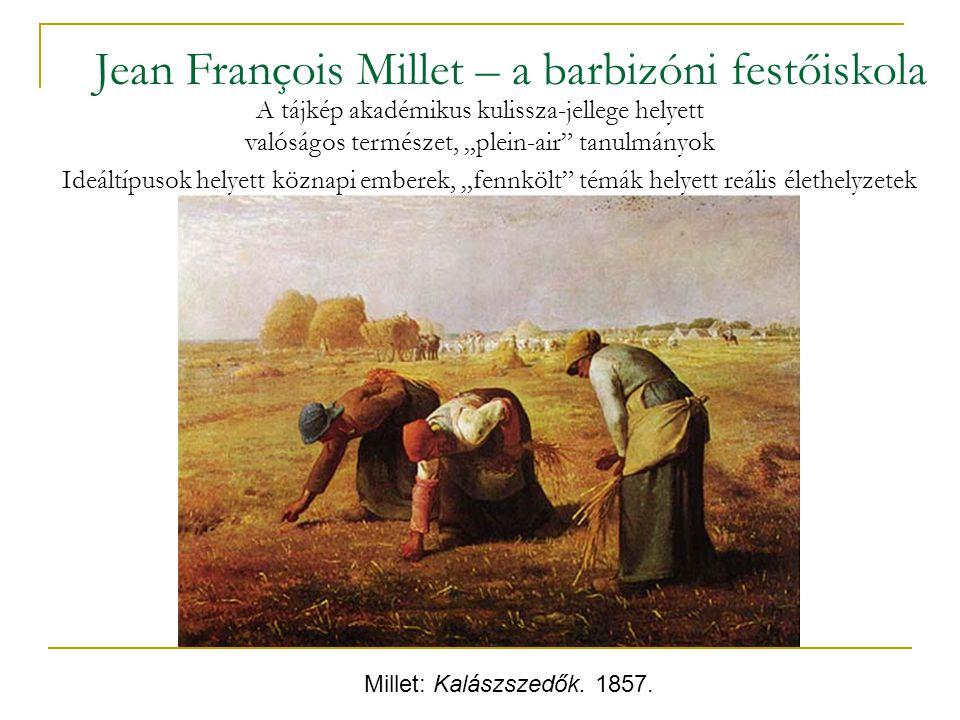 Jean François Millet – a barbizóni festőiskola