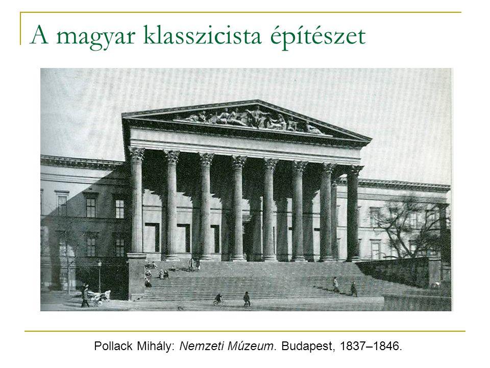 A magyar klasszicista építészet