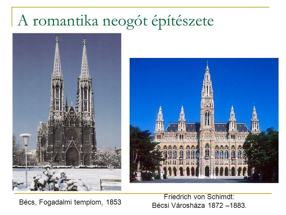 A romantika neogót építészete