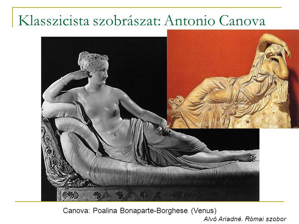 Klasszicista szobrászat: Antonio Canova