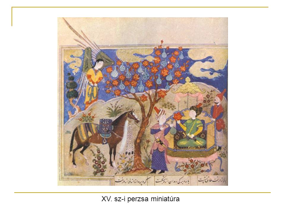 XV. sz-i perzsa miniatúra