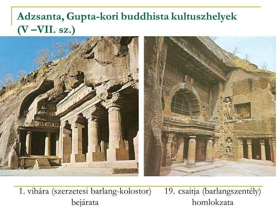 Adzsanta, Gupta-kori buddhista kultuszhelyek (V –VII. sz.)