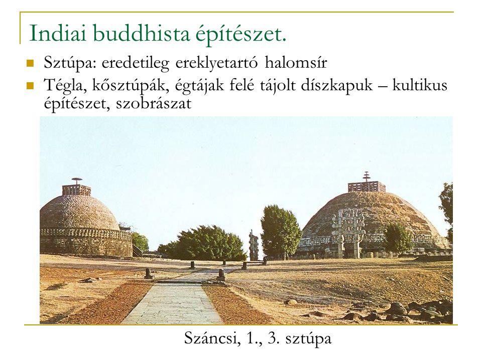 Indiai buddhista építészet.