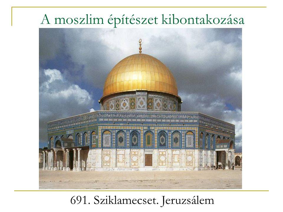 A moszlim építészet kibontakozása