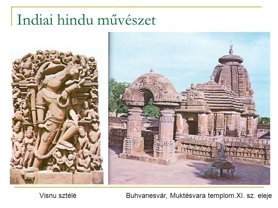 Indiai hindu művészet Visnu sztélé