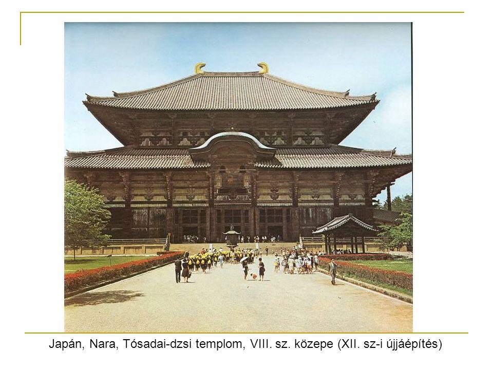 Japán, Nara, Tósadai-dzsi templom, VIII. sz. közepe (XII