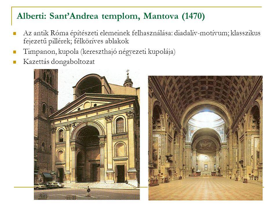 Alberti: Sant'Andrea templom, Mantova (1470)
