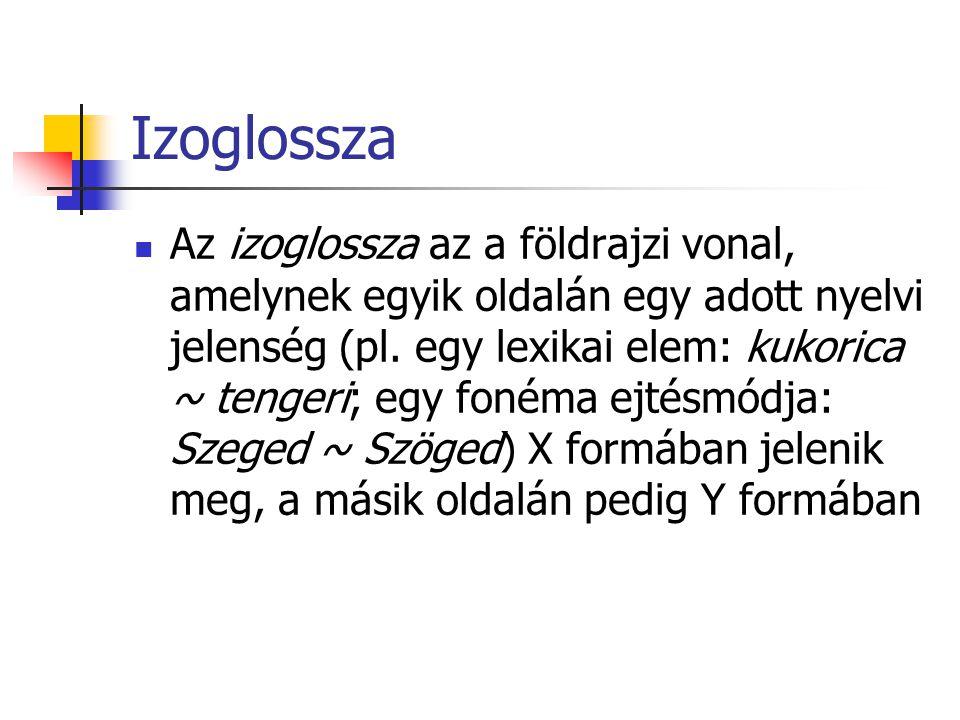 Izoglossza
