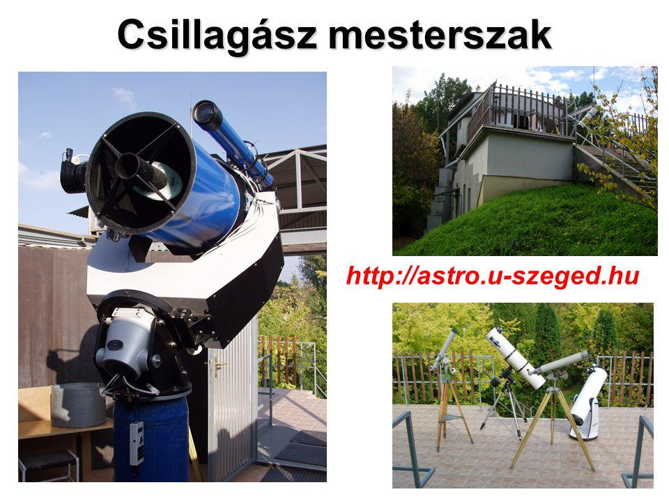 Csillagász mesterszak