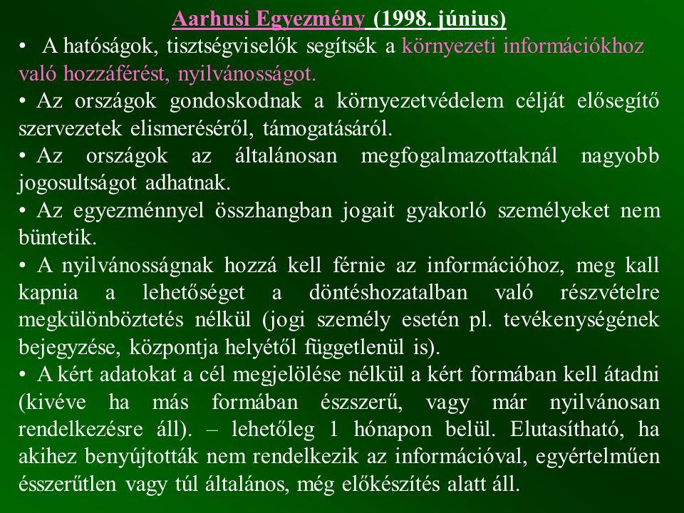 Aarhusi Egyezmény (1998. június)