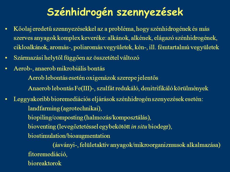 Szénhidrogén szennyezések