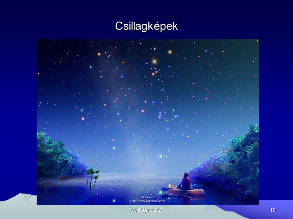 Csillagképek Csillagászat 2.