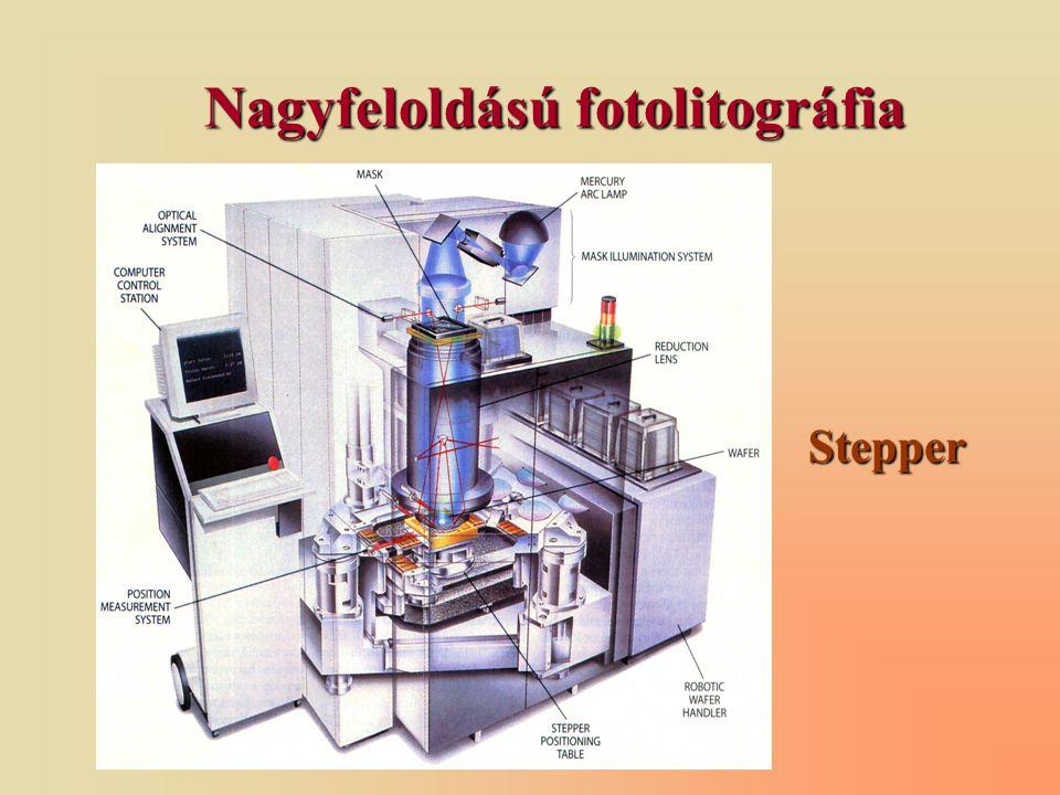 Nagyfeloldású fotolitográfia