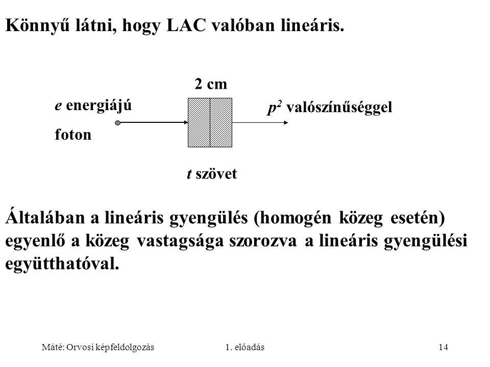 Könnyű látni, hogy LAC valóban lineáris.