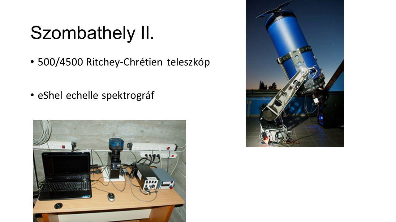 Szombathely II. 500/4500 Ritchey-Chrétien teleszkóp