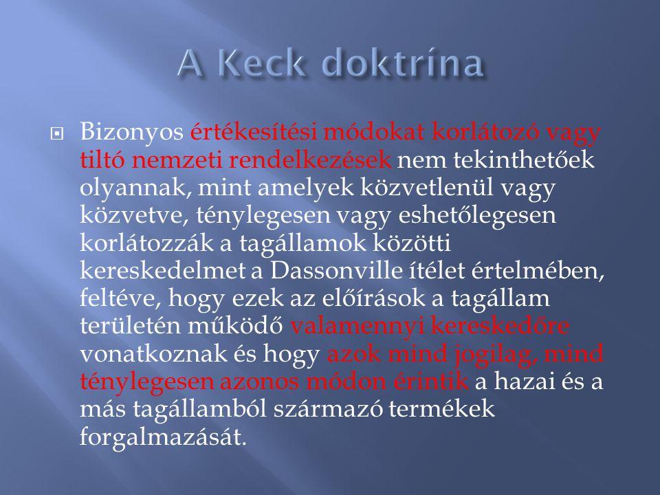 A Keck doktrína