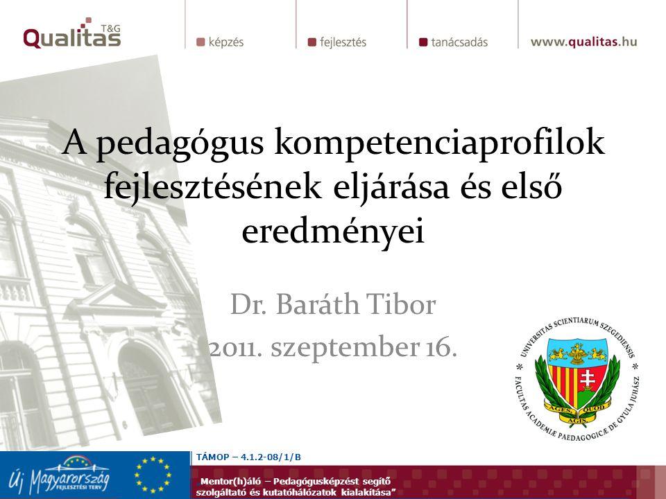 Dr. Baráth Tibor 2011. szeptember 16.