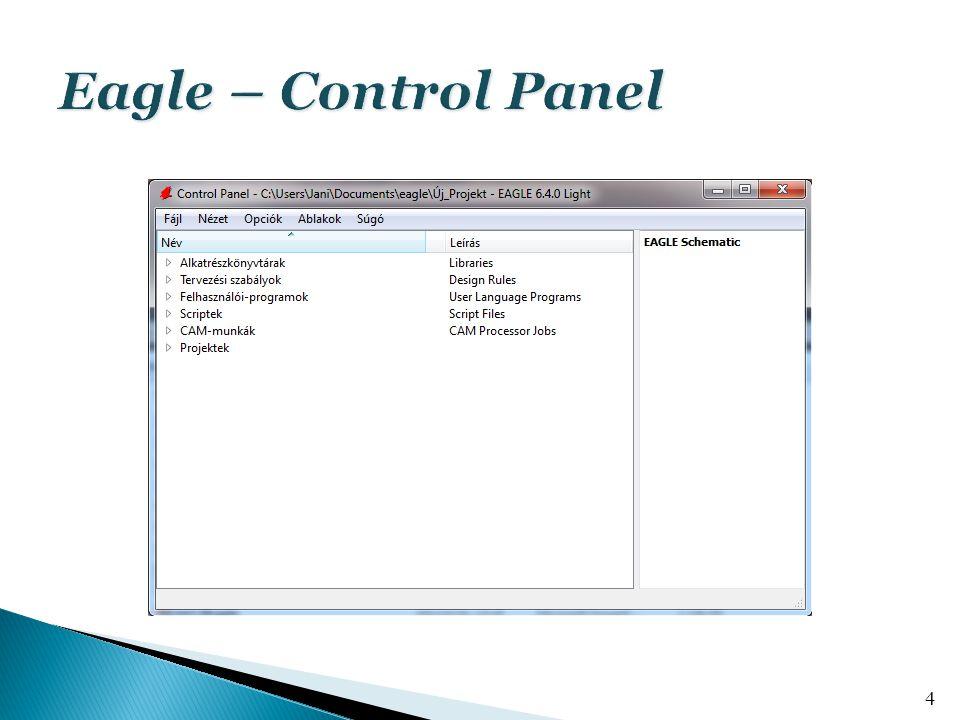 Eagle – Control Panel