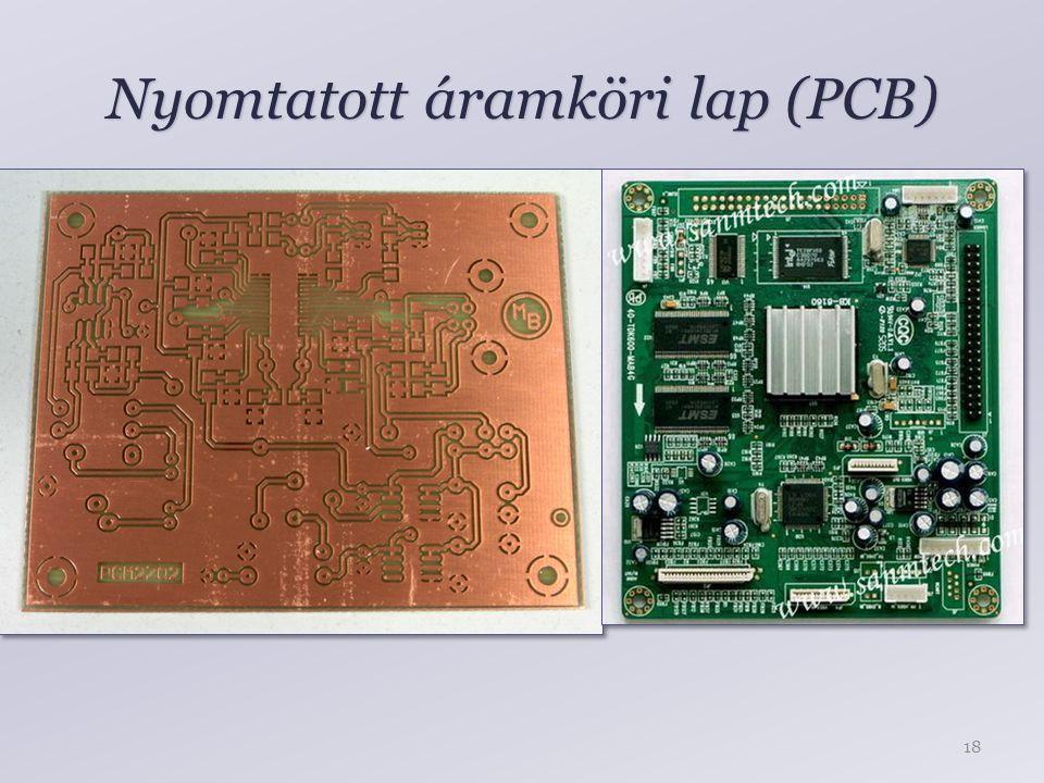 Nyomtatott áramköri lap (PCB)