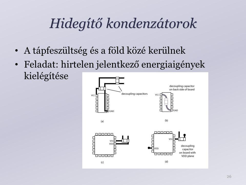 Hidegítő kondenzátorok