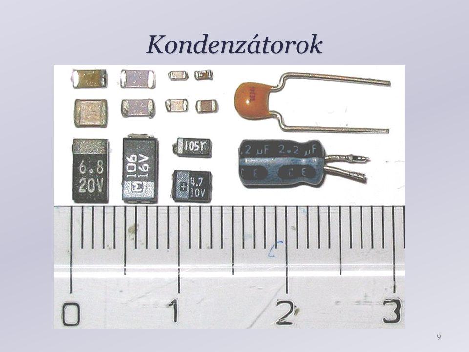 Kondenzátorok