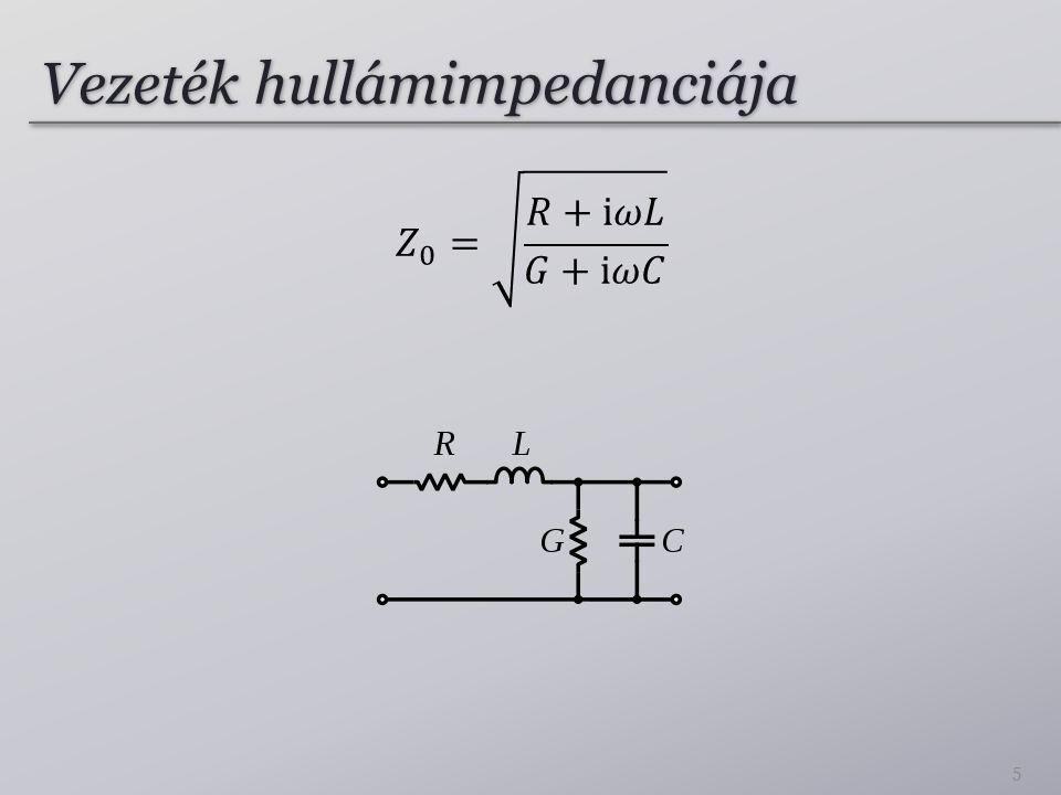 Vezeték hullámimpedanciája