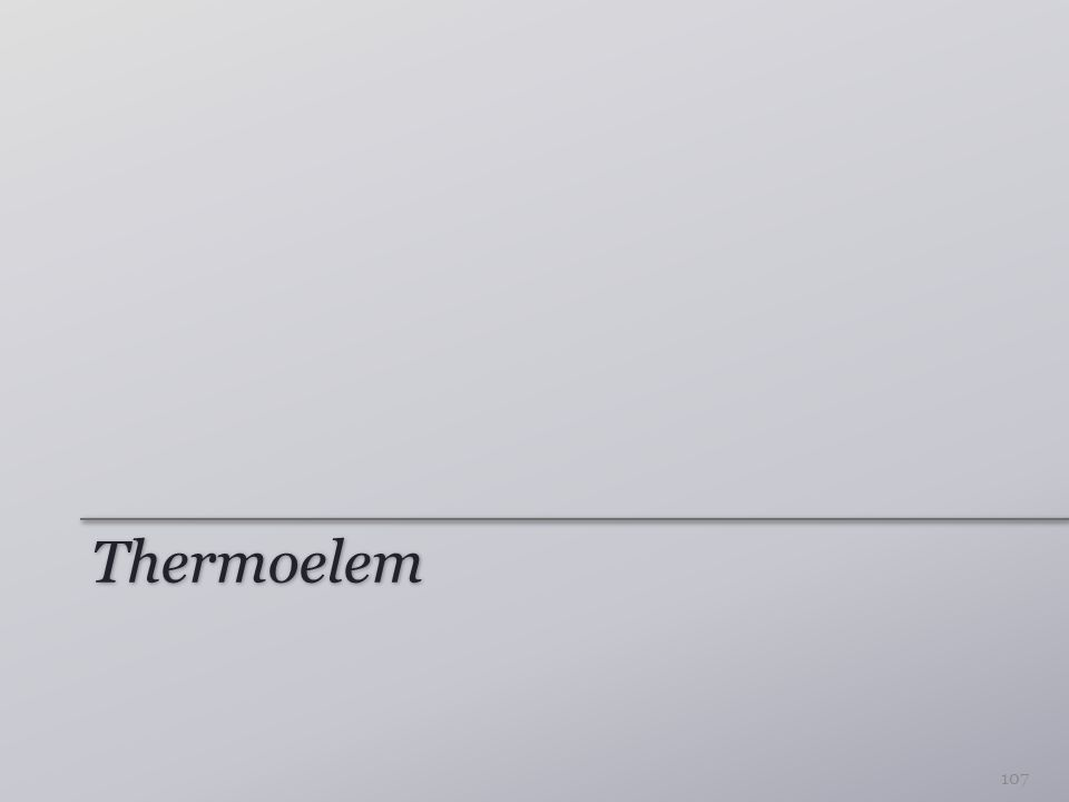 Thermoelem