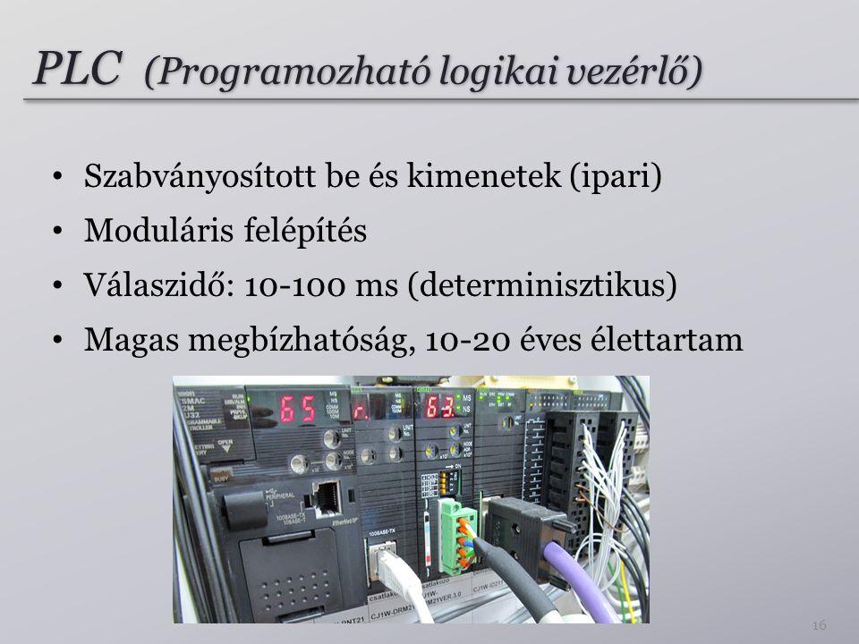 PLC (Programozható logikai vezérlő)