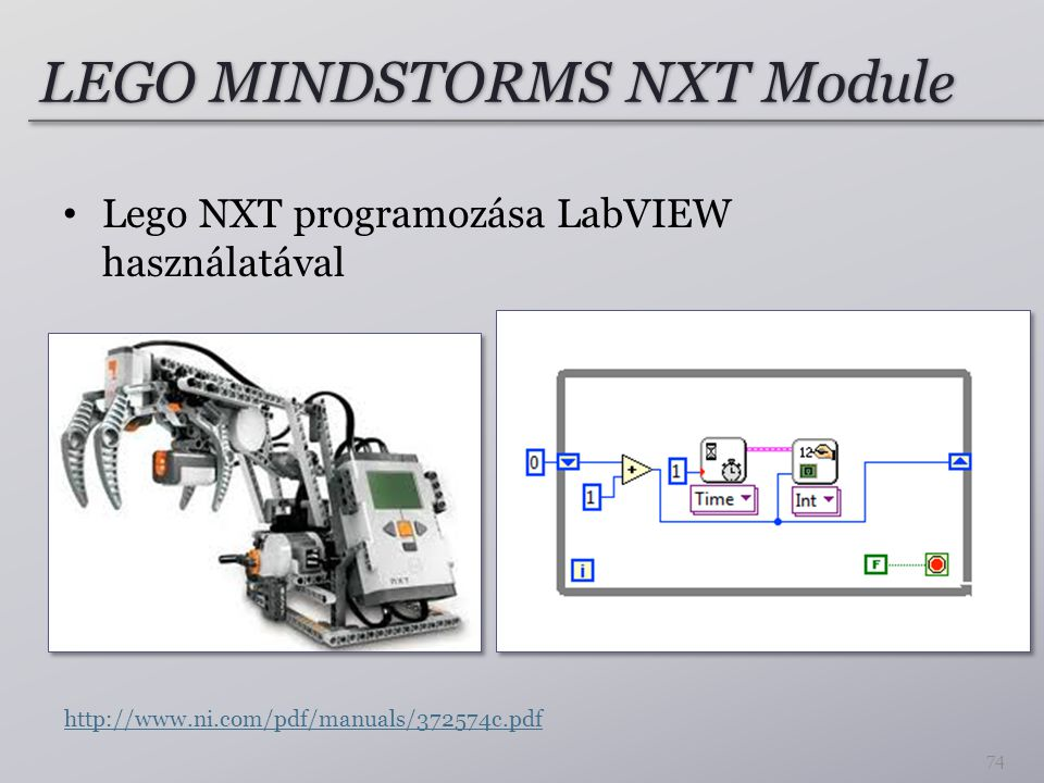 LEGO MINDSTORMS NXT Module