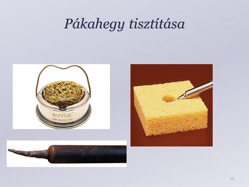 Pákahegy tisztítása