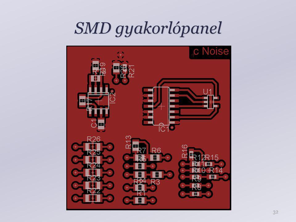 SMD gyakorlópanel