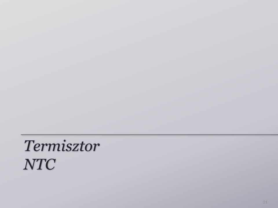 Termisztor NTC