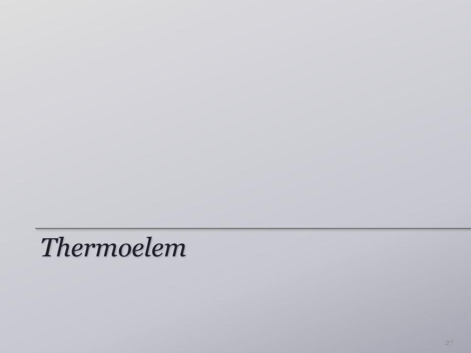 Thermoelem