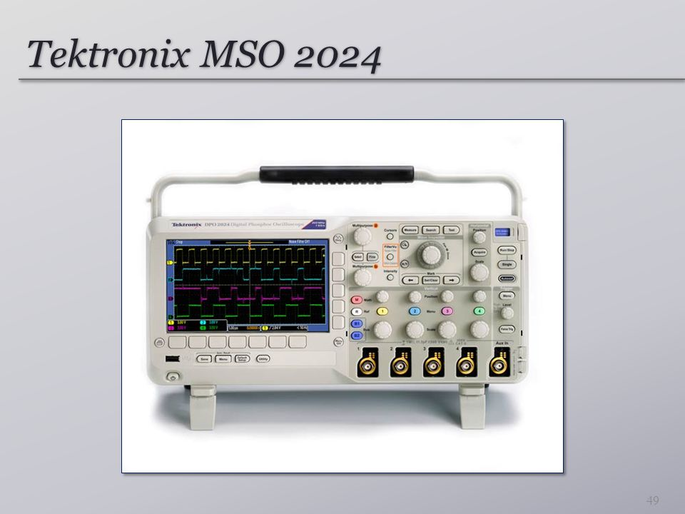 Tektronix MSO 2024