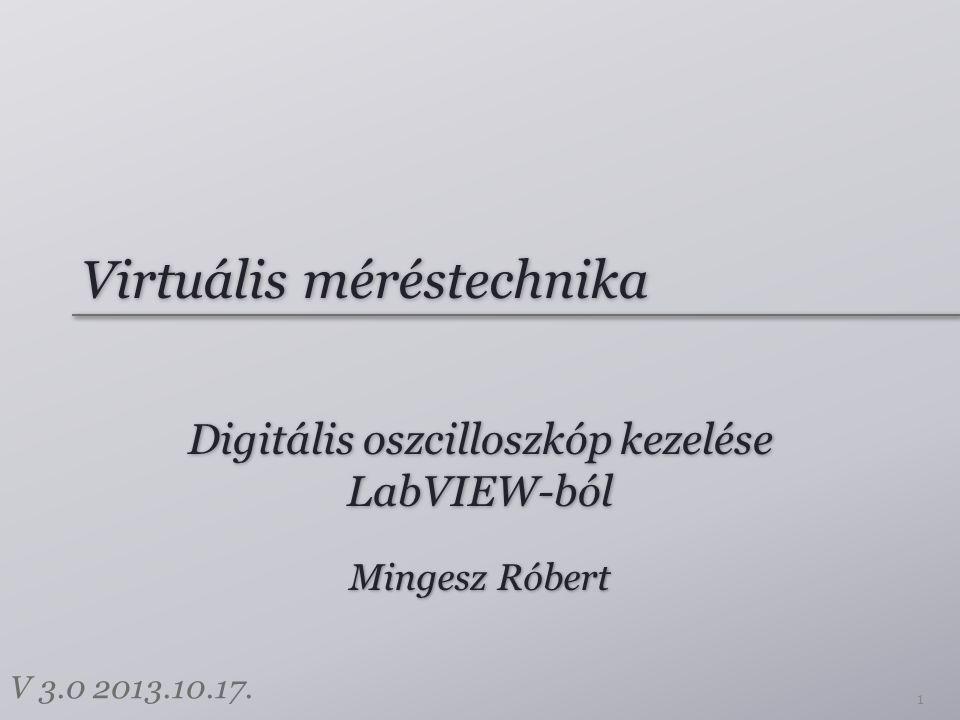 Virtuális méréstechnika
