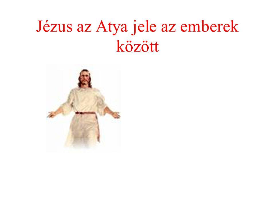 Jézus az Atya jele az emberek között